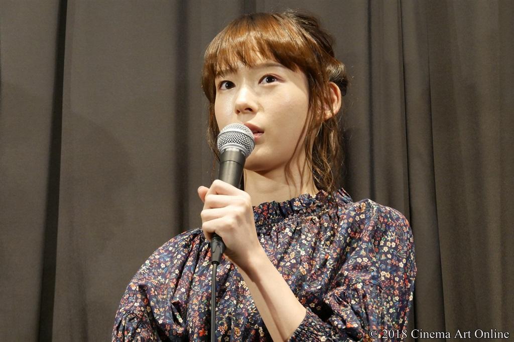 【写真】映画『少女邂逅』公開初日舞台挨拶 (保紫萌香)