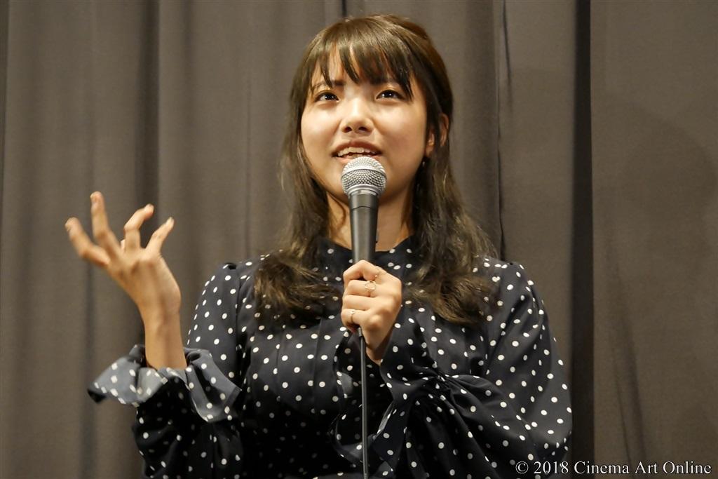【写真】映画『少女邂逅』公開初日舞台挨拶 (枝優花監督)