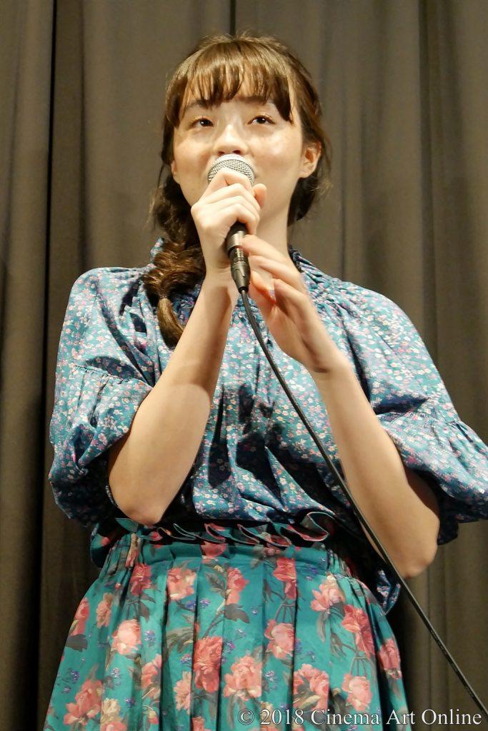 【写真】映画『少女邂逅』公開初日舞台挨拶 (モトーラ世理奈)