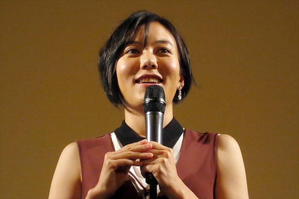 【写真】映画『明日にかける橋 1989年の想い出』完成披露試写会舞台挨拶 鈴木杏