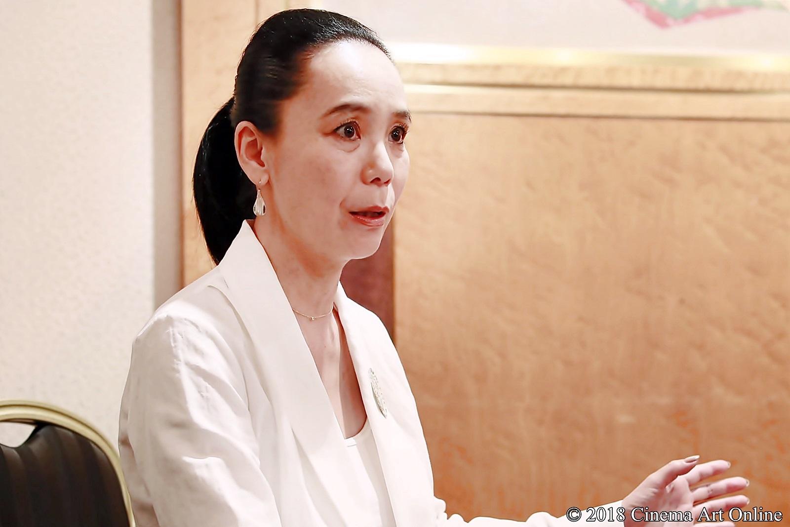 【写真】映画『Viion』河瀨直美監督インタビュー