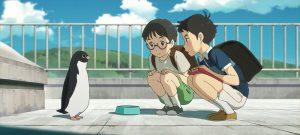 【画像】映画『ペンギン・ハイウェイ』アオヤマ君とウチダ君とペンギン