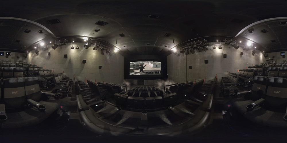 映画『ミッション:インポッシブル/フォールアウト』体感型プレミアムシアター4DX® VR001