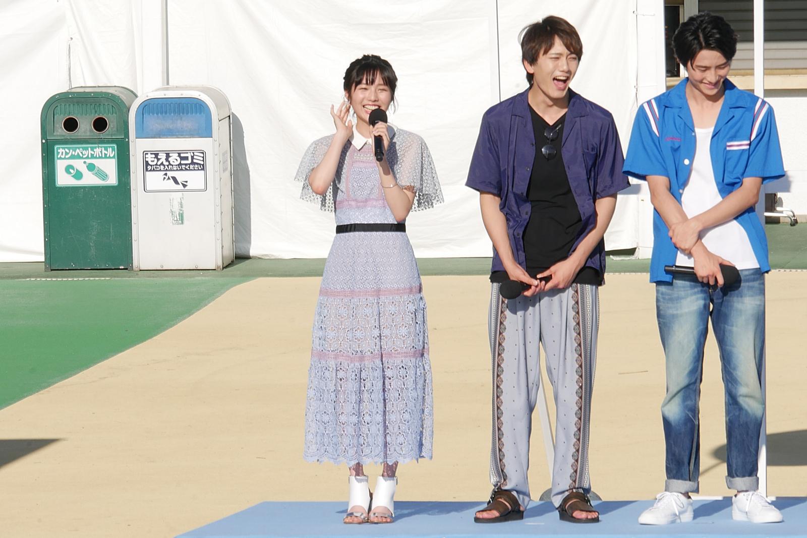 【写真】映画『青夏 きみに恋した30日』完成披露イベント (秋田汐梨)