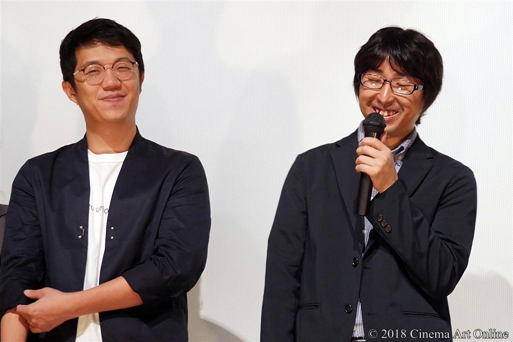 【写真】リ・ハオリン監督、竹内良貴監督