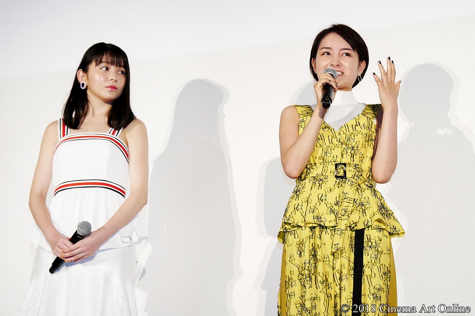 【写真】映画『青夏 きみに恋した30日』女子会舞台挨拶(久間田琳加、葵わかな)