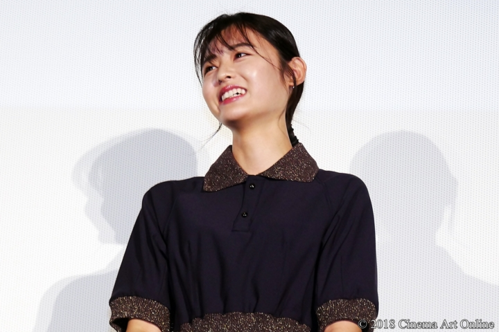 【写真】映画『青夏 きみに恋した30日』女子会舞台挨拶(古畑星夏)