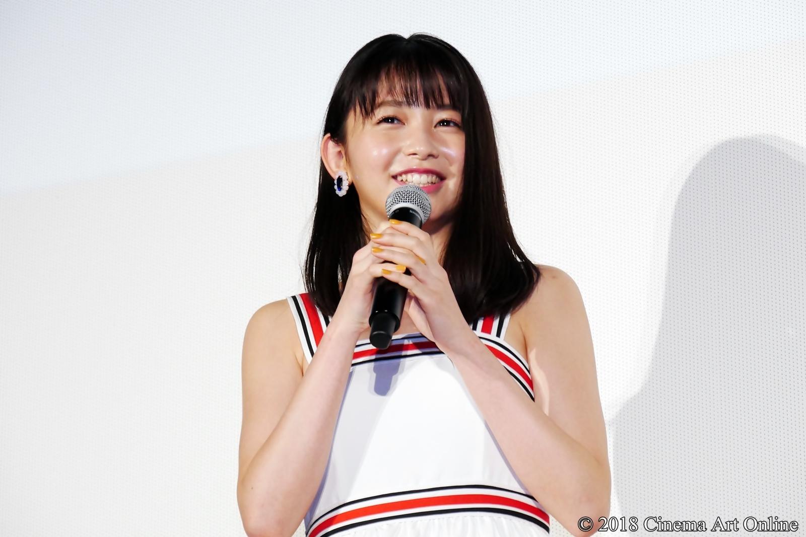 【写真】映画『青夏 きみに恋した30日』女子会舞台挨拶(久間田琳加)
