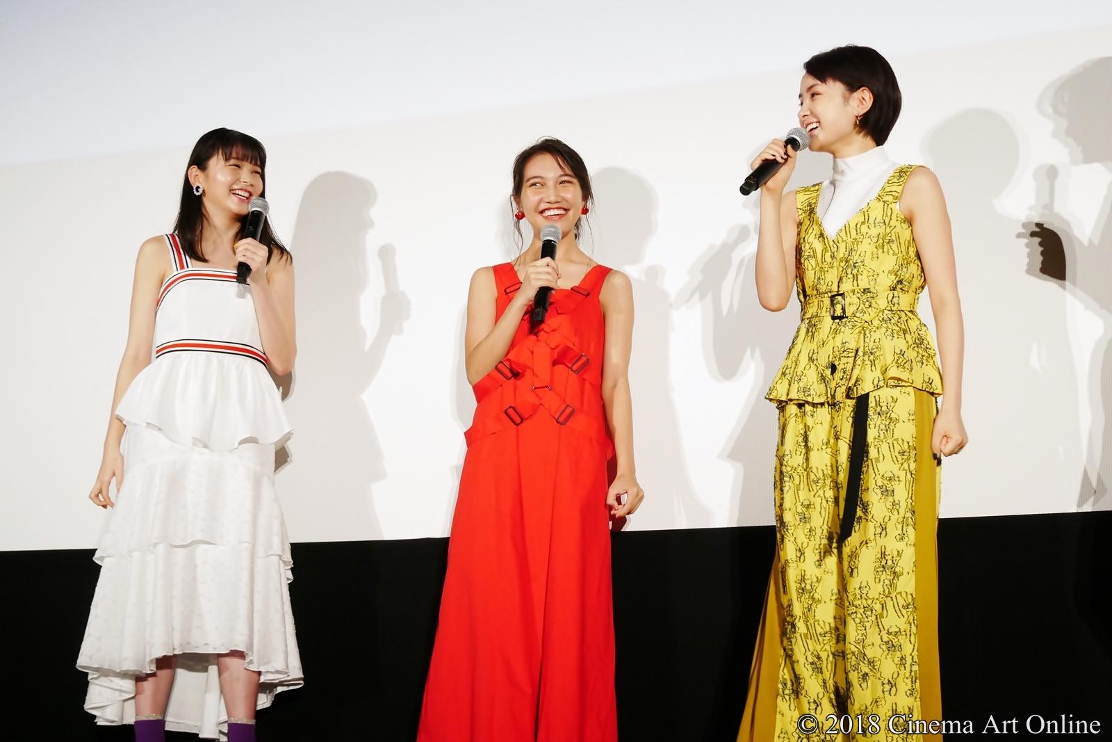 【写真】映画『青夏 きみに恋した30日』女子会舞台挨拶(久間田琳加、井上苑子、葵わかな)