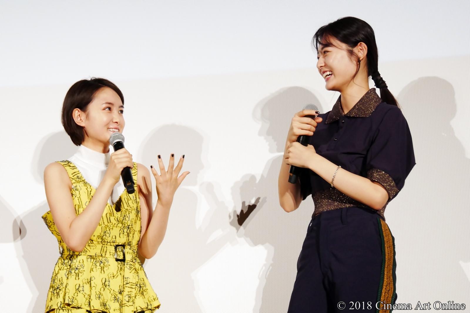 【写真】映画『青夏 きみに恋した30日』女子会舞台挨拶(葵わかな、古畑星夏)