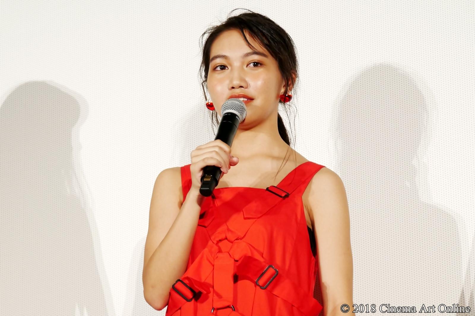 【写真】映画『青夏 きみに恋した30日』女子会舞台挨拶(井上苑子)