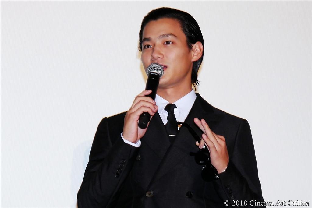 【写真】映画『純平、考え直せ』完成披露上映会舞台挨拶 (野村周平)