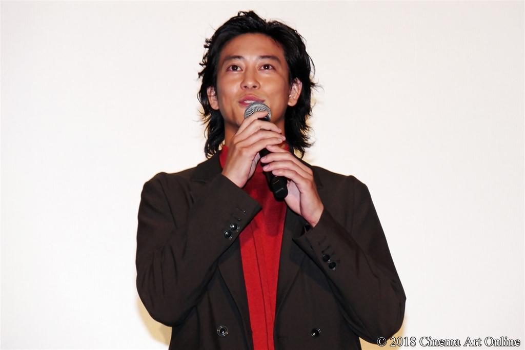【写真】映画『純平、考え直せ』完成披露上映会舞台挨拶 (佐野岳)