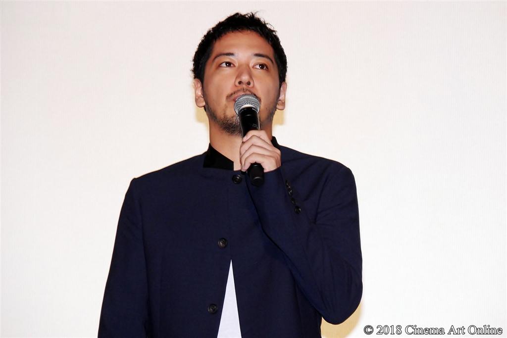 【写真】映画『純平、考え直せ』完成披露上映会舞台挨拶 (佐藤佑基)