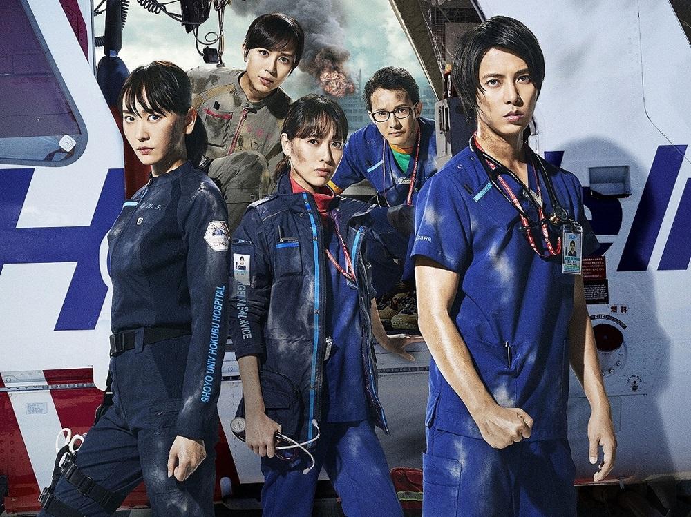 【画像】映画『劇場版 コード・ブルー -ドクターヘリ緊急救命-』メインカット