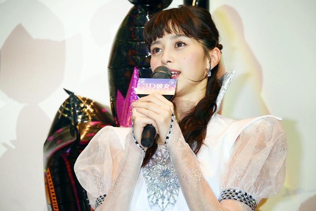 【写真】映画『3D彼女 リアルガール』ハロウィンイベント 中条あやみ