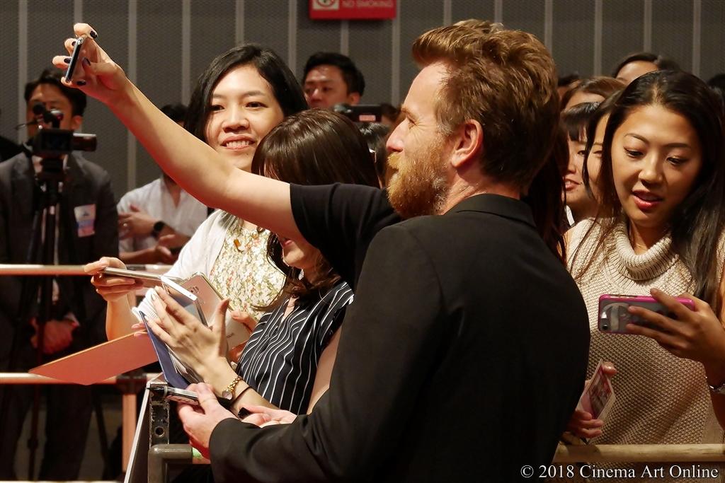 【写真】映画『プーと大人になった僕』ジャパンプレミア (ユアン・マクレガー)