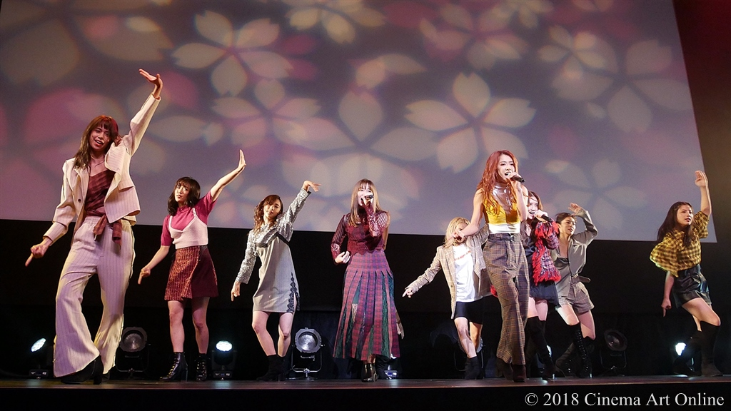 【写真】主題歌:E-girls「Perfect World」LIVE