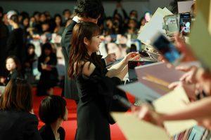 【写真】第31回東京国際映画祭(TIFF) GALAスクリーニング作品 映画『人魚の眠る家』ワールドプレミア レッドカーペットセレモニー (川栄李奈)