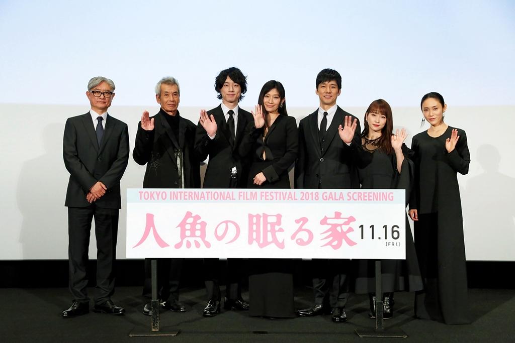【写真】第31回東京国際映画祭(TIFF) GALAスクリーニング作品 映画『人魚の眠る家』ワールドプレミア 完成披露舞台挨拶