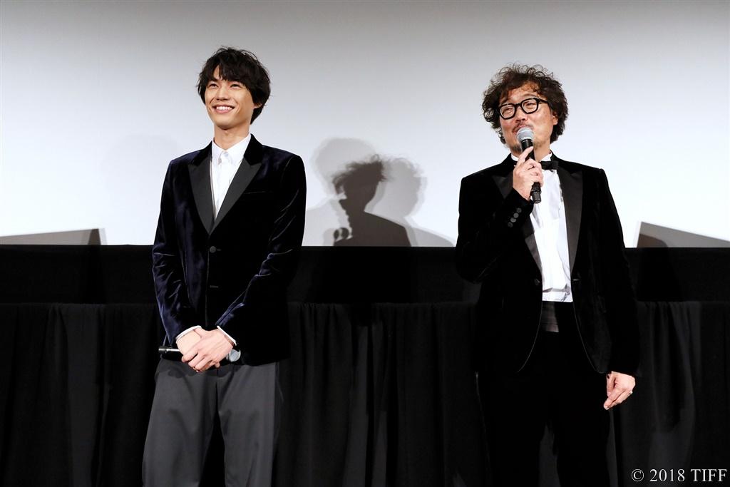 【写真】第31回東京国際映画祭(TIFF) 特別招待作品『旅猫リポート』舞台挨拶 (福士蒼汰、三木康一郎監督)