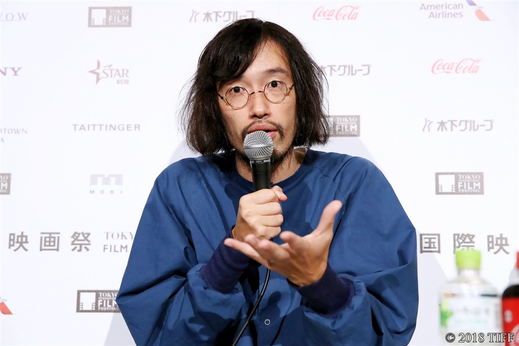 【写真】第31回東京国際映画祭(TIFF) コンペティション部門『愛がなんだ』記者会見 (今泉力哉監督)