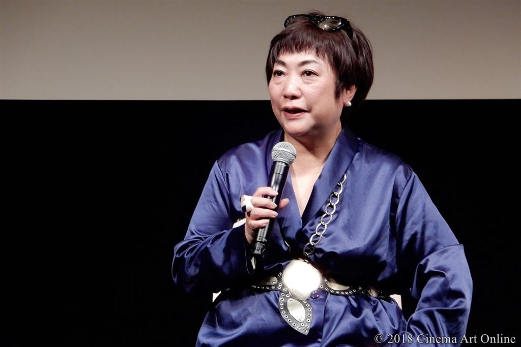 【写真】第31回 東京国際映画祭(TIFF) 特別招待作品『華氏119』トークショー (湯山玲子)