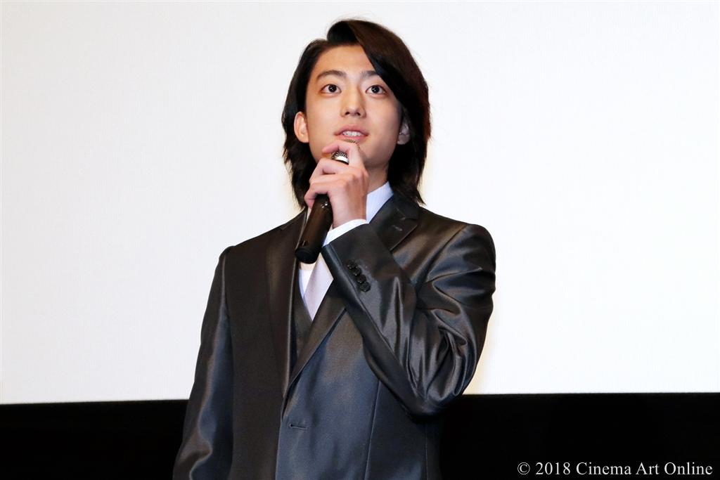 【写真】映画『覚悟はいいか、そこの女子。』公開初日舞台挨拶 (伊藤健太郎)