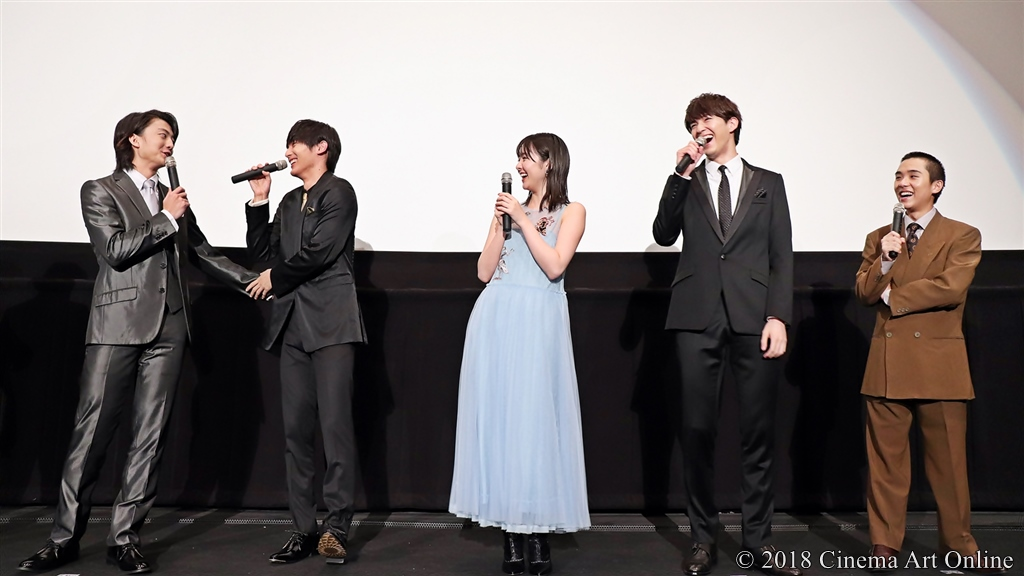 【写真】映画『覚悟はいいか、そこの女子。』公開初日舞台挨拶