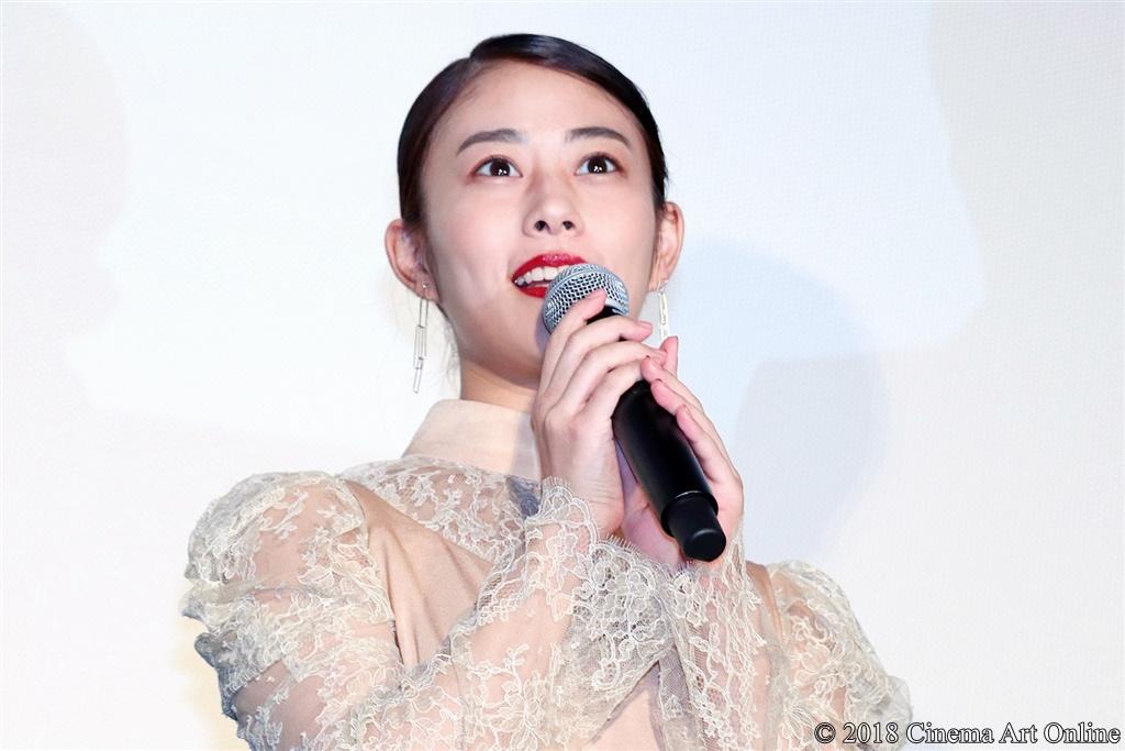 【写真】映画『旅猫リポート』公開初日舞台挨拶 (高畑充希)