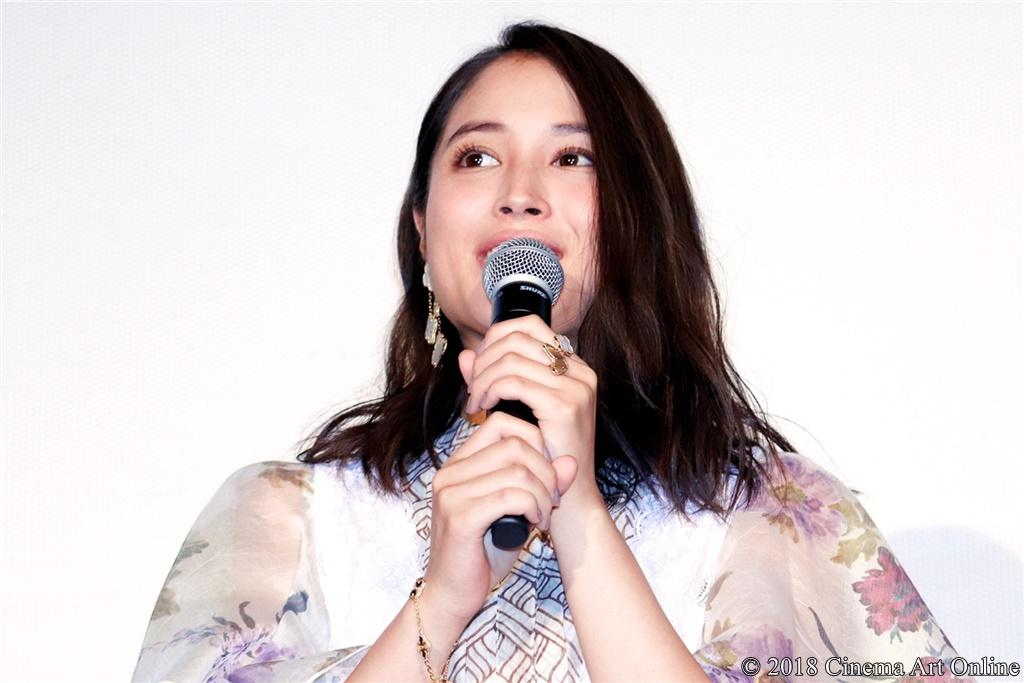 【写真】映画『旅猫リポート』公開初日舞台挨拶 (広瀬アリス)