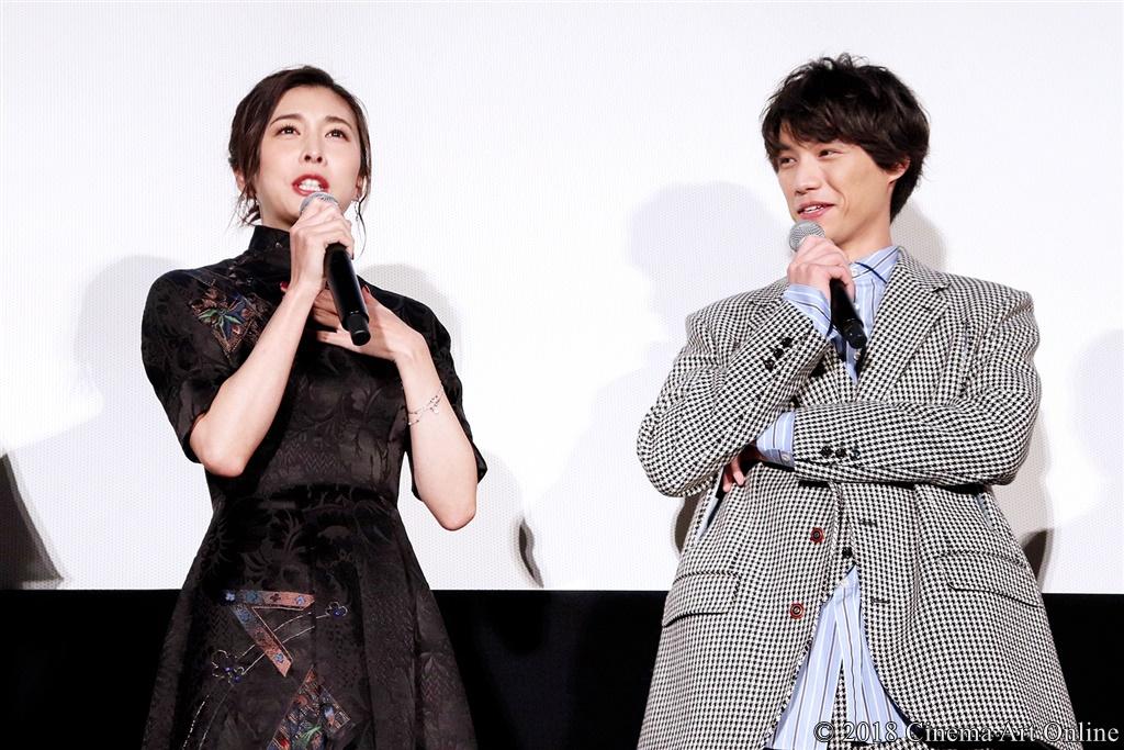 【写真】映画『旅猫リポート』公開初日舞台挨拶 (竹内結子、福士蒼汰)