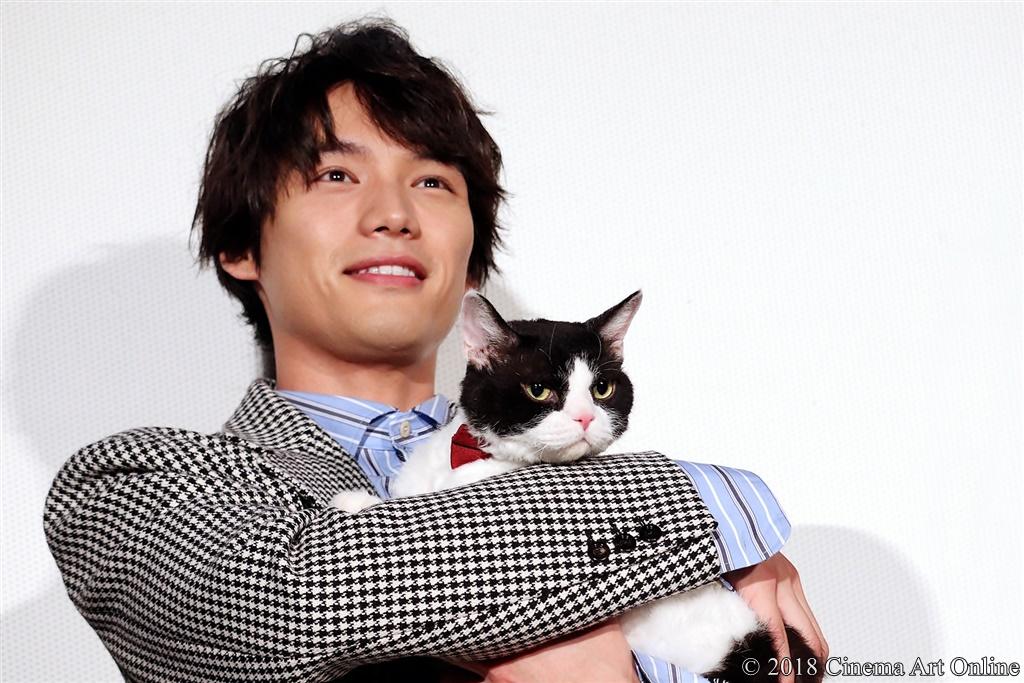 【写真】映画『旅猫リポート』公開初日舞台挨拶 (福士蒼汰&ナナ)