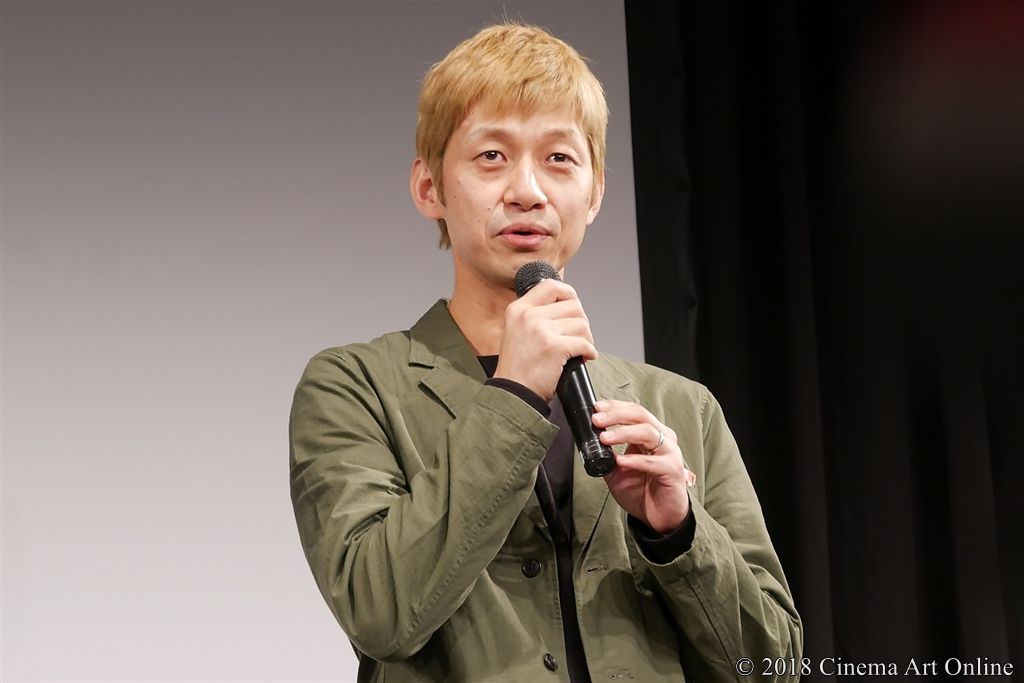 【写真】映画『ヌヌ子の聖★戦 ~HARAJUKU STORY~』完成披露上映会舞台挨拶 (深川栄洋)