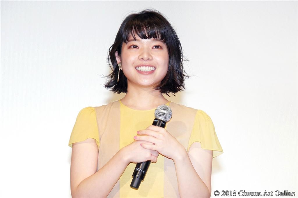 【写真】第31回東京国際映画祭(TIFF) コンペティション部門『愛がなんだ』舞台挨拶 (岸井ゆきの)