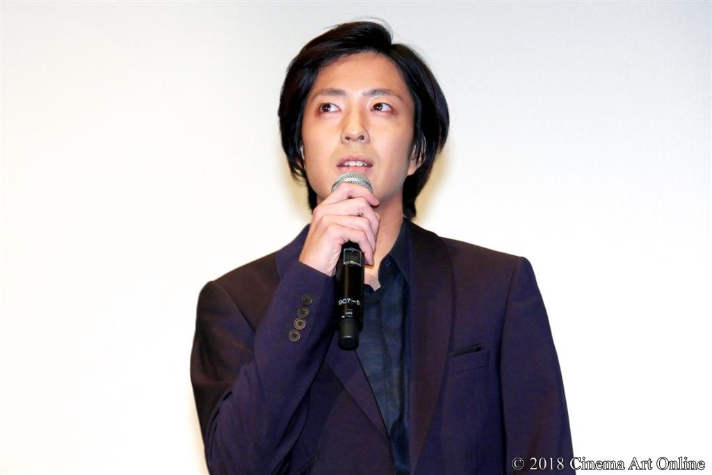 【写真】第31回東京国際映画祭(TIFF) コンペティション部門『愛がなんだ』舞台挨拶 (今泉力哉監督)