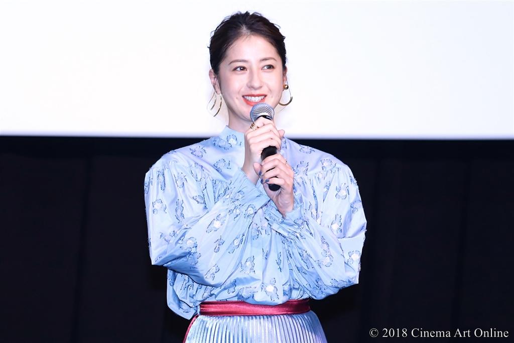 【写真】映画『この道』完成披露試写会舞台挨拶 (松本若菜)