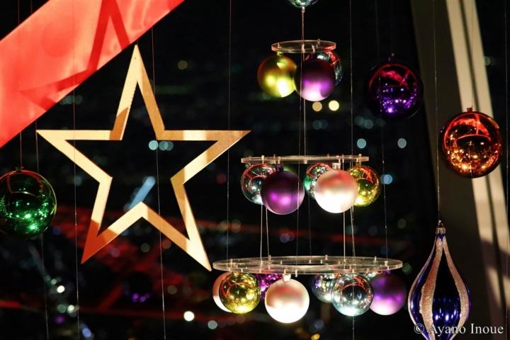 【写真】東京スカイツリー展望台 クリスマスイルミネーション
