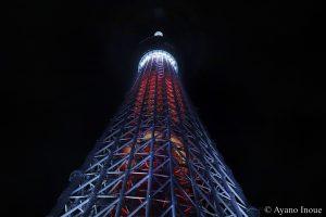 【写真】東京スカイツリー ライティング