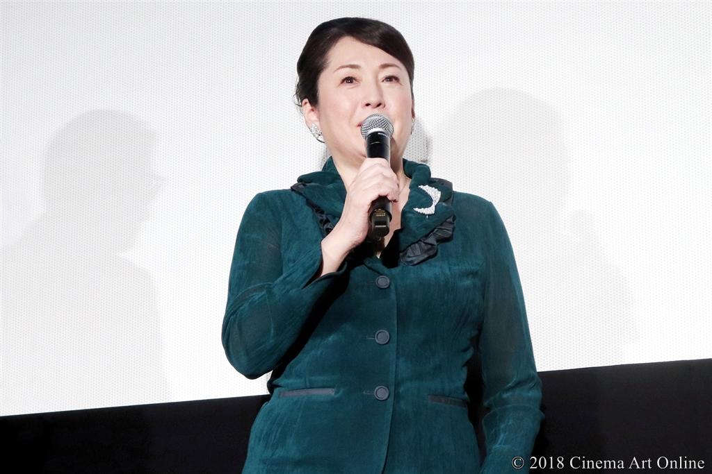 【写真】映画『人魚の眠る家』公開記念舞台挨拶 (松坂慶子)