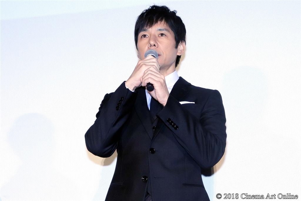 【写真】映画『人魚の眠る家』公開記念舞台挨拶 (西島秀俊)