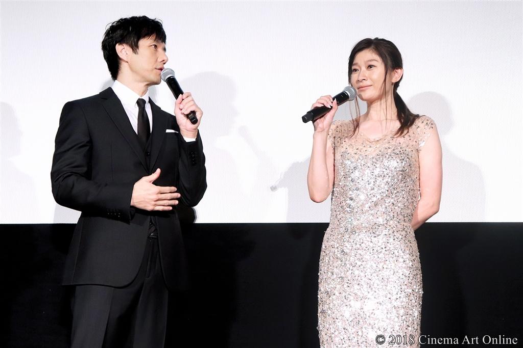【写真】映画『人魚の眠る家』公開記念舞台挨拶 (西島秀俊、篠原涼子)
