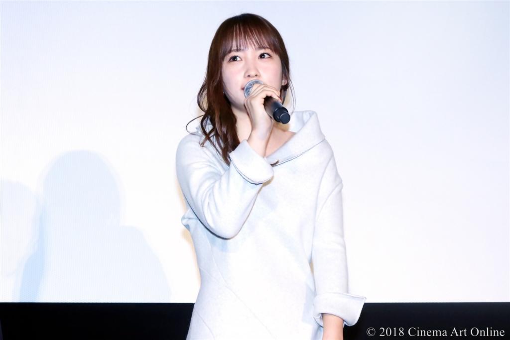 【写真】映画『人魚の眠る家』公開記念舞台挨拶 (川栄李奈)
