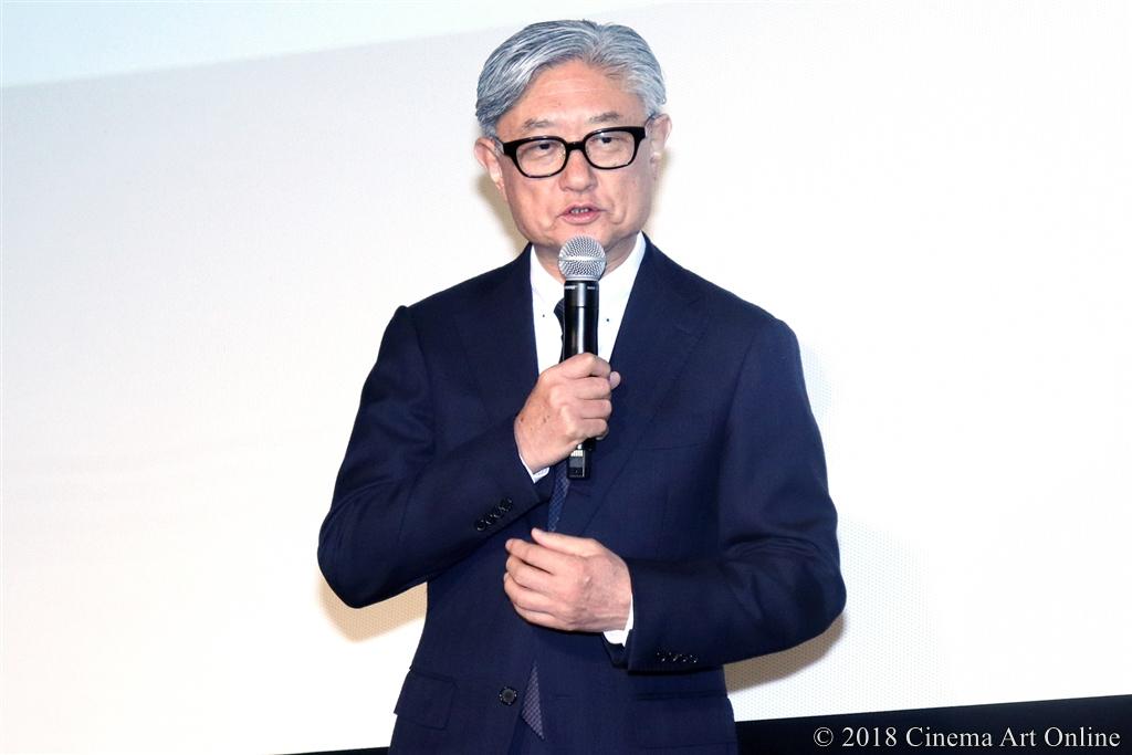 【写真】映画『人魚の眠る家』公開記念舞台挨拶 (堤幸彦監督)