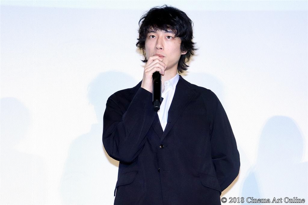 【写真】映画『人魚の眠る家』公開記念舞台挨拶 (坂口健太郎)