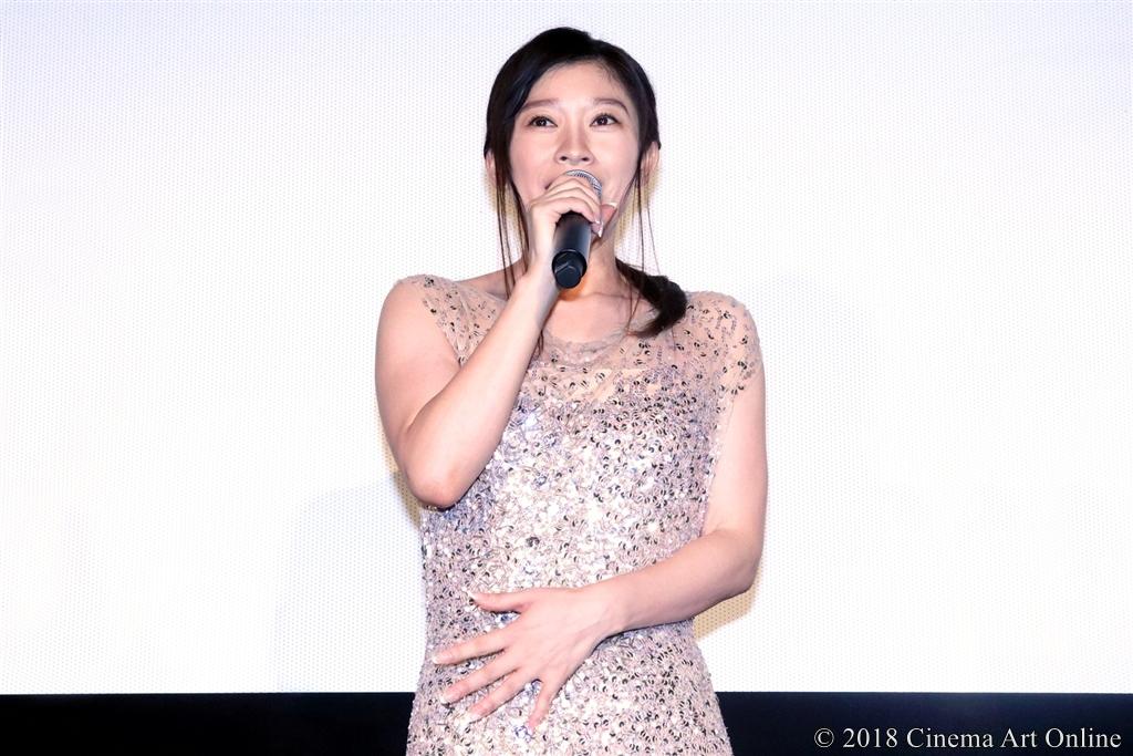 【写真】映画『人魚の眠る家』公開記念舞台挨拶 (篠原涼子)