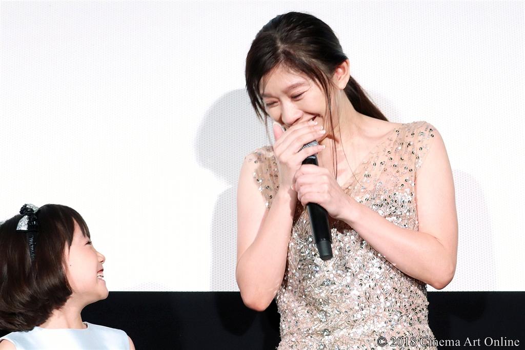 【写真】映画『人魚の眠る家』公開記念舞台挨拶 (篠原涼子、稲垣来泉)