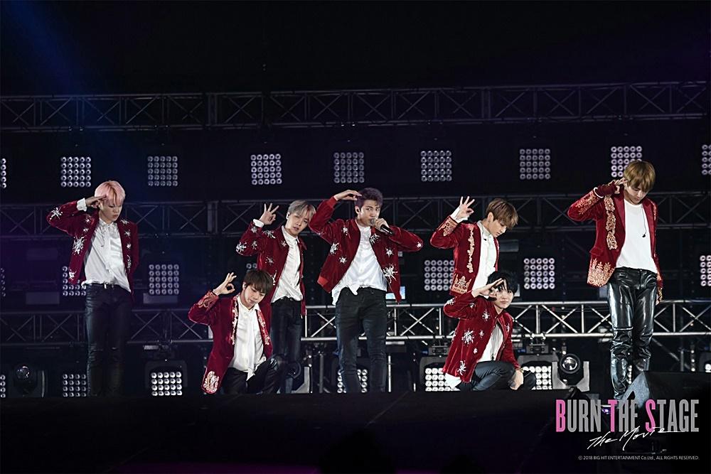 【画像】映画『Burn the Stage : the Movie』BTS LIVEシーンカット