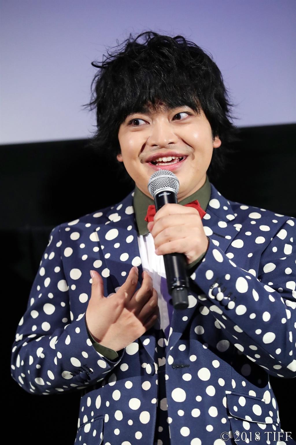 【写真】第31回東京国際映画祭(TIFF) 特別招待作品『ギャングース』舞台挨拶 (加藤 諒)