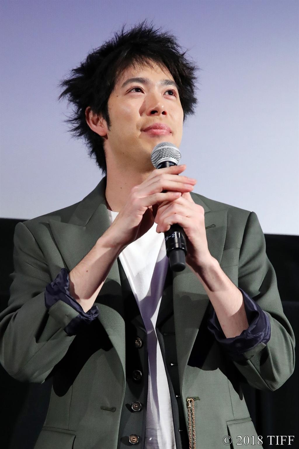 【写真】第31回東京国際映画祭(TIFF) 特別招待作品『ギャングース』舞台挨拶 (渡辺大知)
